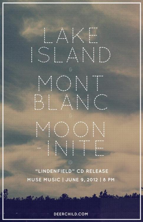 Lake Island, Mont Blanc, Mooninite, June 9, 2012 (Muse Music)