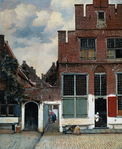 The Little Street Johannes Vermeer
