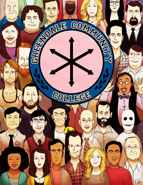 engelen:  Here's my piece for the #SixSeasonsAndAMovie Art Show. Now to get it printed and framed.