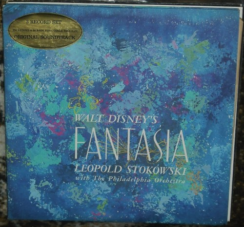 Walt Disney's Fantasia Original Soundtrack, Leopold Stokowski with the Philadelphia Orchestra, 1964 stereo reissue.