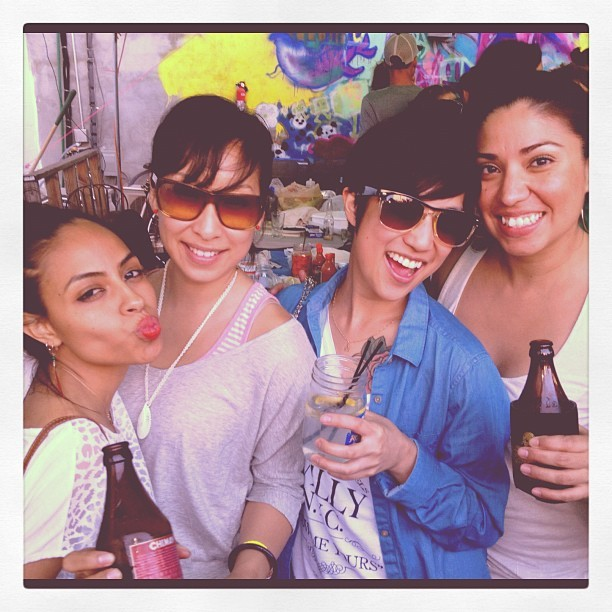darlingchuck:  my west coast ladies @leimatic @marchingy @vaness179 (Taken with Instagram)