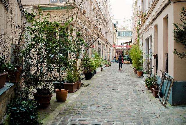 | ♕ |  Paris passage - Cour de l'Ours, 11e  | by © Audrey