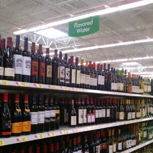 wolfidy:  Really, Wal Mart? Is that how you justify your addiction? (Taken with Instagram at Walmart Supercenter)   i can fux wit dis