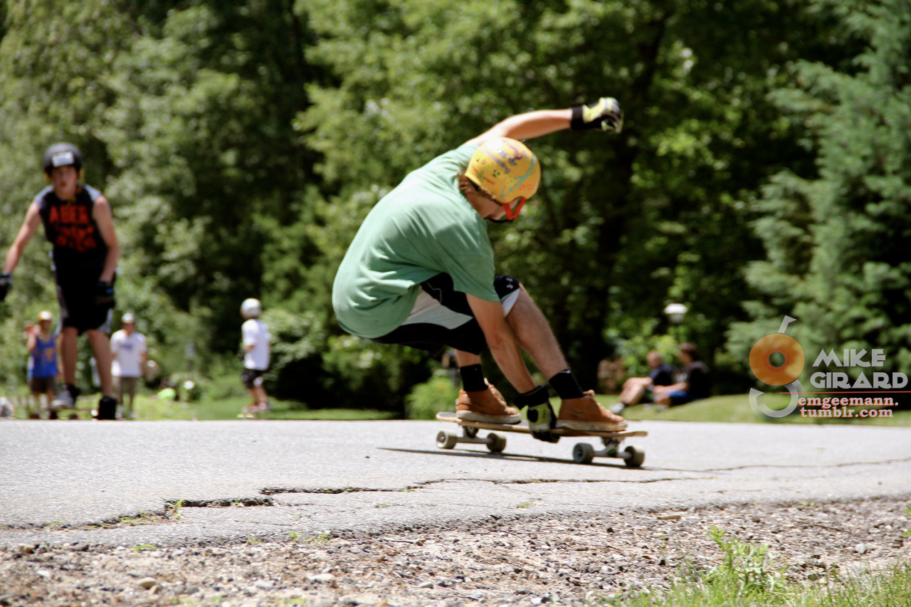 Steezy Stale. Longboard for Life Event. Rider: Nick Burkus. Photo: Mike Girard