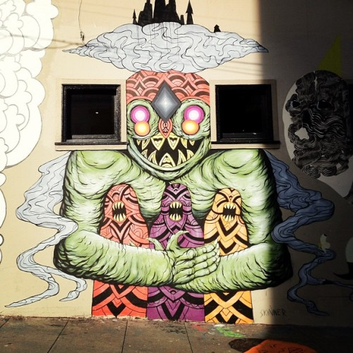 Art by skinner @ San Francisco (Lower Haight) (Taken with Instagram)