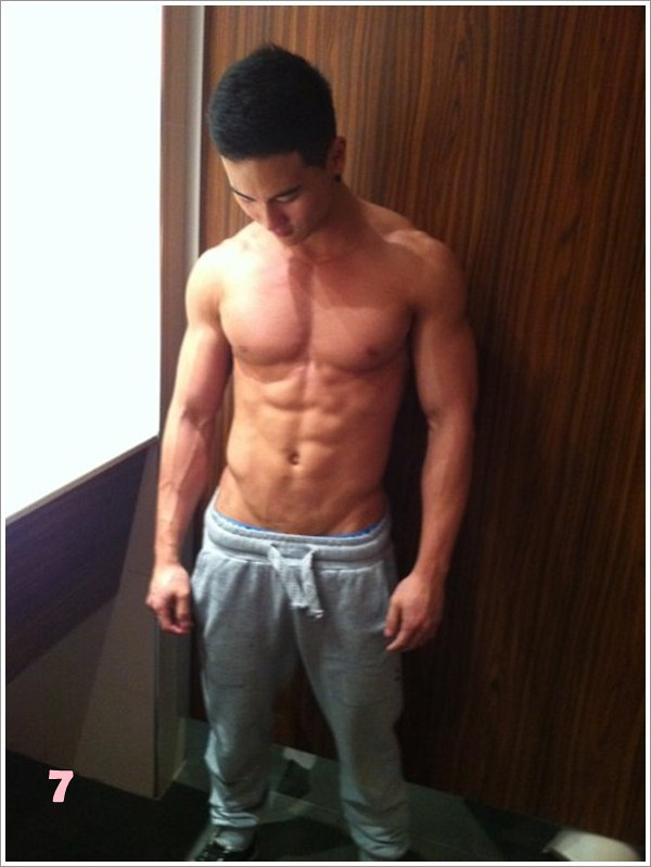 Changing room Hunk!