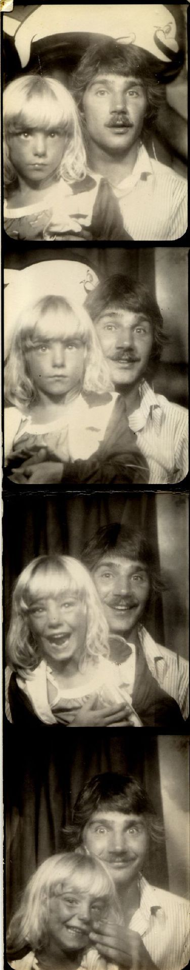 Photobooth of Me and Dad on Flickr.