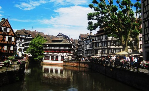 Petite France neighbourhood of Strasbourg