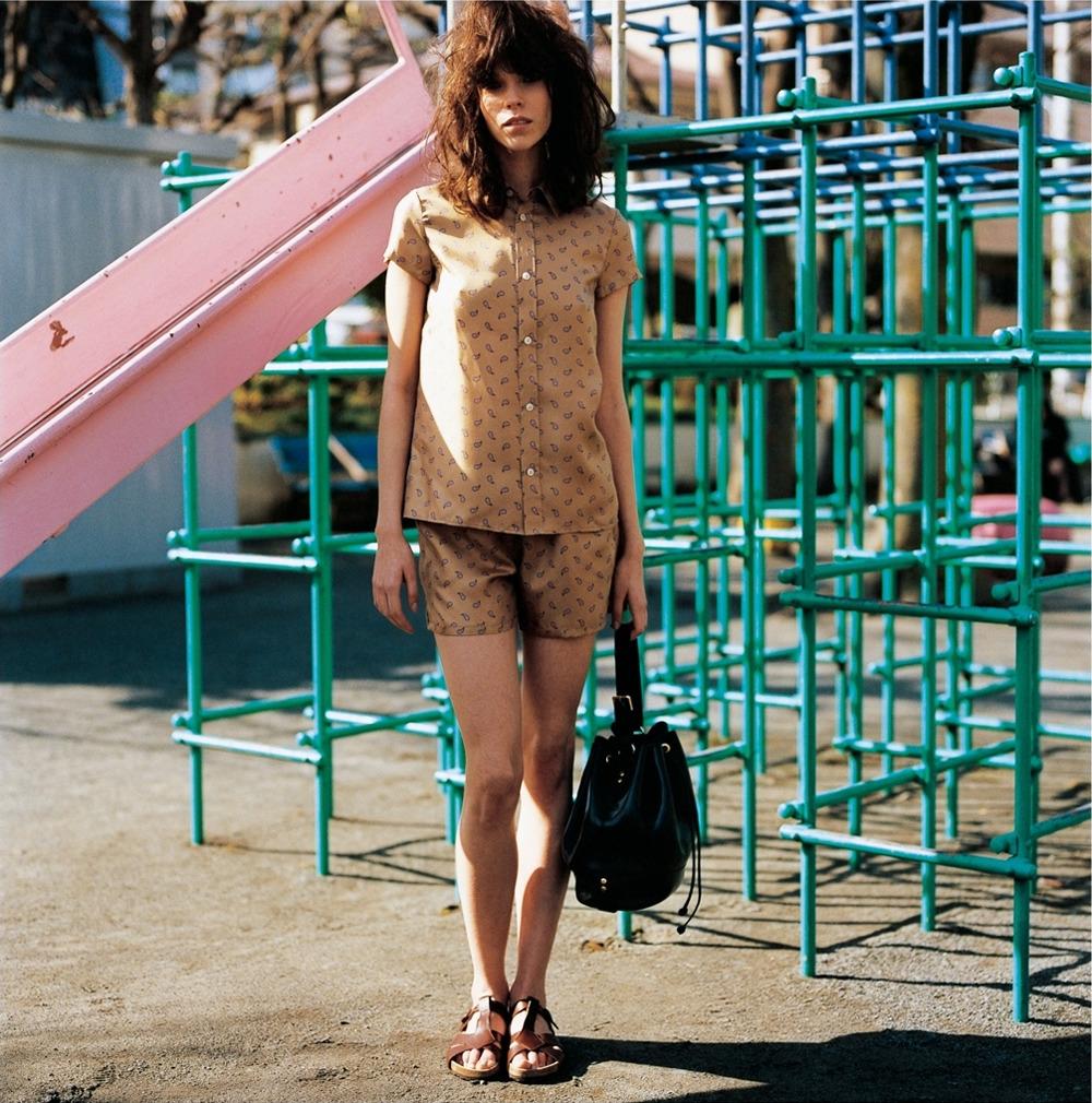 Meghan Collison by Shunya Arai for Madame Figaro Japan June 2012