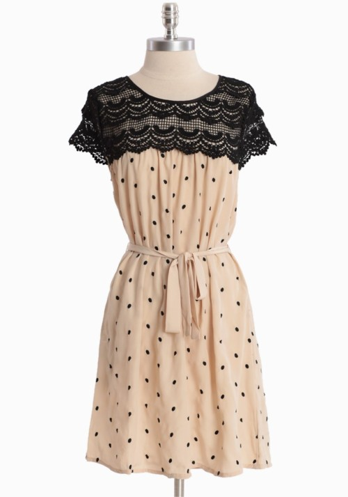 paganlovefest:  Pandoro polka dot dress by Darling UK