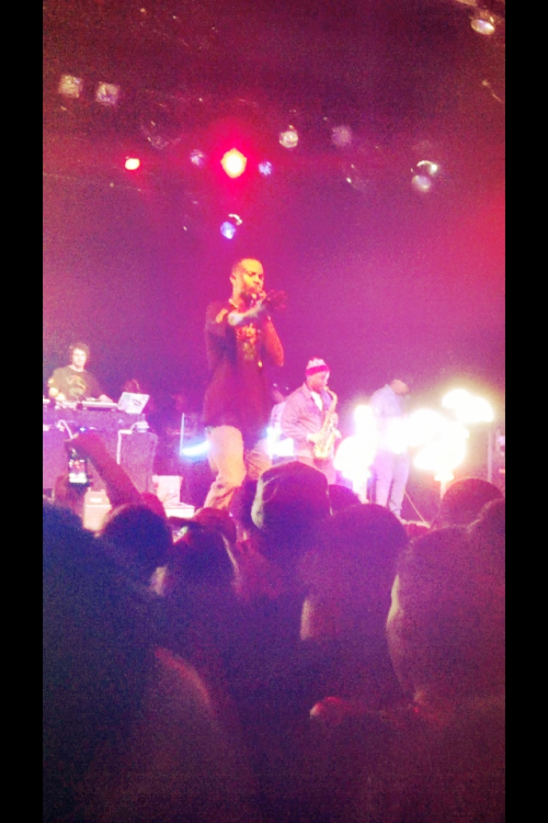 @CaseyVeggies preaching n @TerraceMartin shredding the sax. Great night at the El Rey Theatre.  #THHS