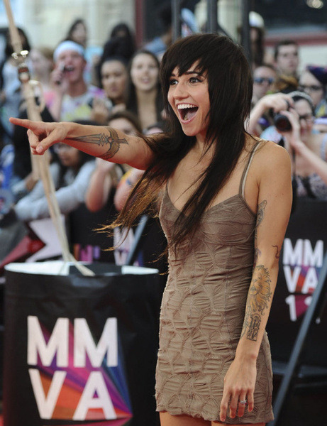 classy lights is classy at the MMVA's 2012! :D