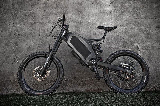 The Stealth Bomber Electric Bike you wanted.