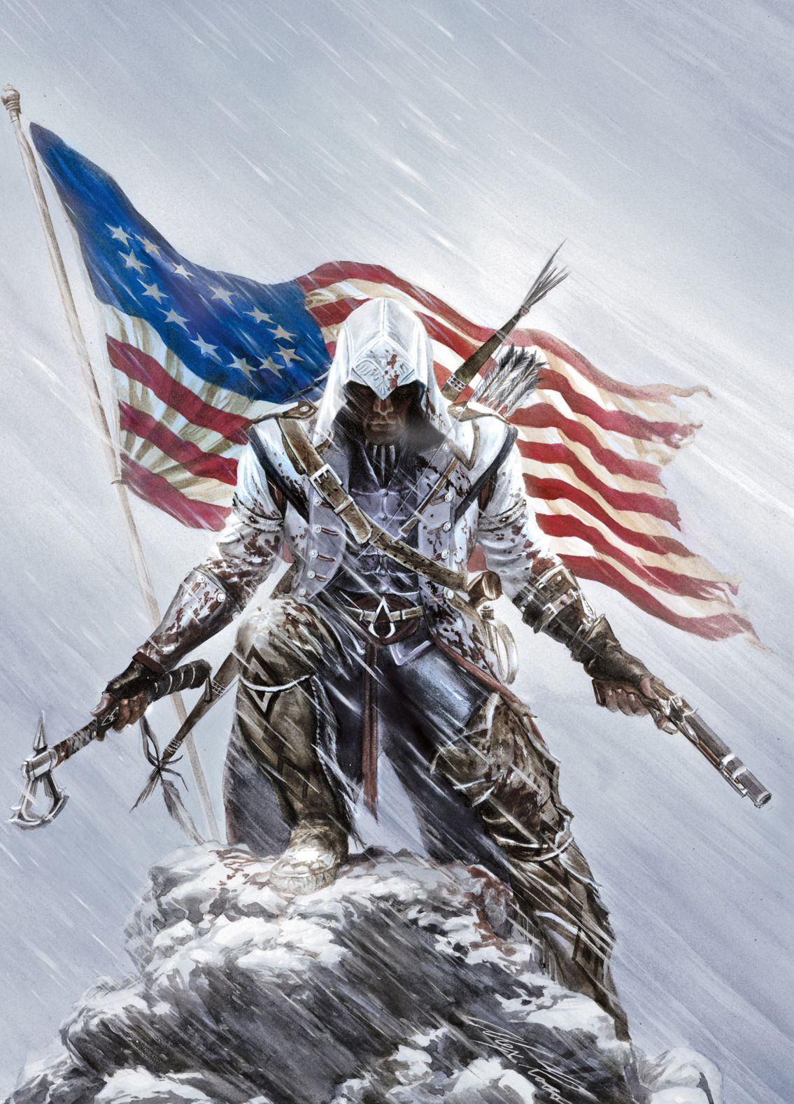 gamefreaksnz:  Assassin's Creed III: more E3 images released  Ubisoft have released a few more screenshots for Assassin's Creed III following up on their impressive showing at E3 earlier this month.