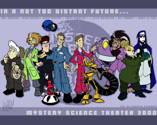bullit1987:  MST3K inspired fan artwork.