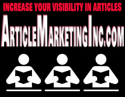 Article Marketing is a great way to get your business noticed by highly targeted customers! If you want to be seen by people looking for what you have - you need to be featured in the right articles! Article Marketing Inc is here to help! More info on Article Marketing from Wikipedia