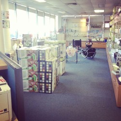 My new office/store 😊 (Taken with Instagram)