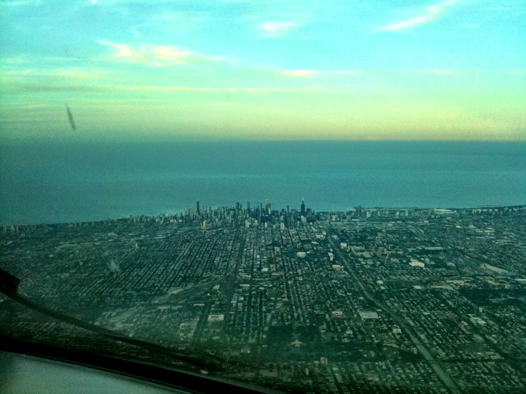 Back at work this afternoon for a rare 4 day trip of all Chicago turns…and more dirty windshields.