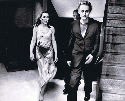 hiddlestonisthegodofmischief:  Oh my goodness… That woman's ovaries… They actually exploded. Guys we need to stop the Hiddles before.. it's… too… What was I saying? Was it something about how beautiful Tom is?