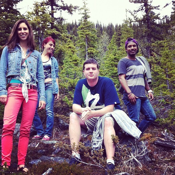 #banff #bandphotos #friends #alberta #canadaosthebest  (Taken with Instagram)