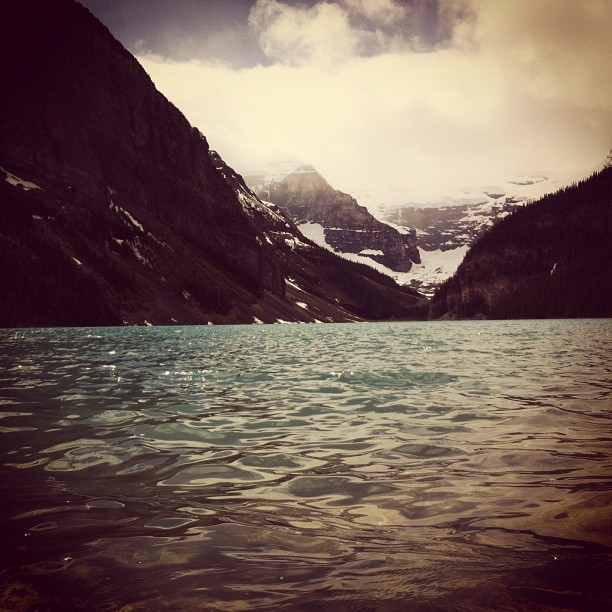 #alberta #banff #canadaosthebest #lakelouise #beautiful  (Taken with Instagram)