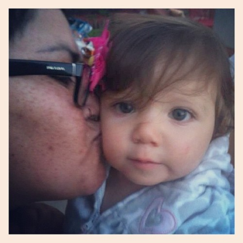 #outandabout #photoadayjune #kissingbabies (Taken with Instagram)