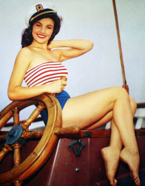 Pin-up model, Mara Corday c. 1950's