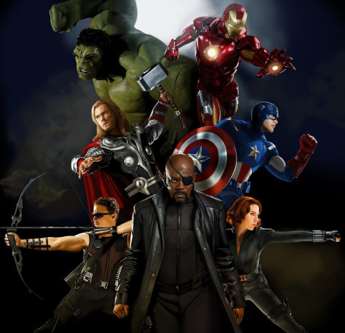 The Avengers by ~MOROTEO56 I just got back from seeing the movie… for the 6th time. It's still great. lol