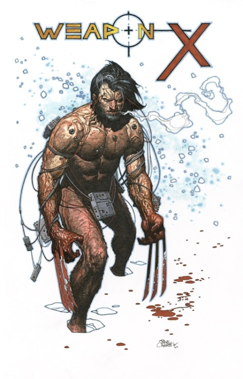 kandidkandor:  Weapon-X | Travis Charest
