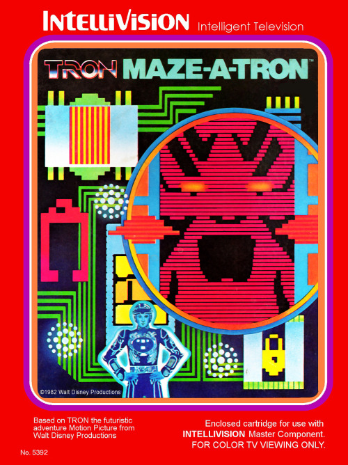 Developed by Mattel in 1982 for Intellivision