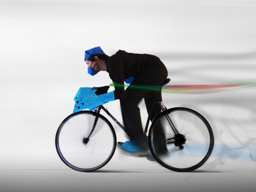 bisign:  (vía BikeBorg: Cyberpunk Suits Connect Cyclists With Their Bikes BikeBorg Rider – Inhabitat - Sustainable Design Innovation, Eco Architecture, Green Building)