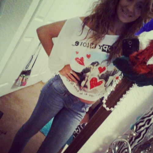 Movies outfit :)) #movienight #outfit #fashion #red (Taken with Instagram)
