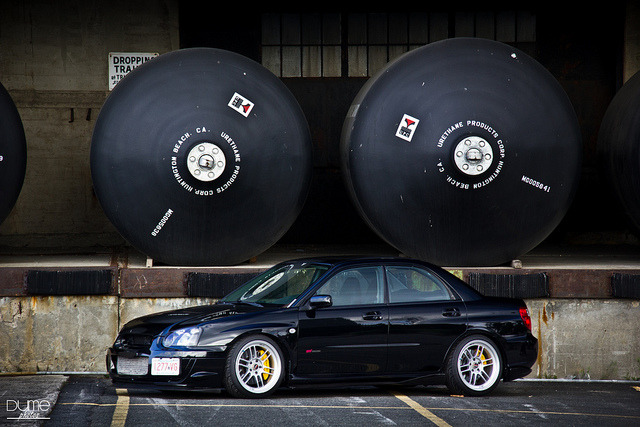Life time supply of race fuel. WRX STi by DumePhotos on Flickr.