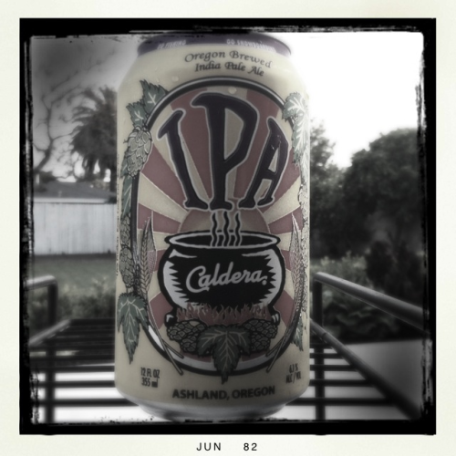 Caldera from Ashland, Oregon = House favorite IPA