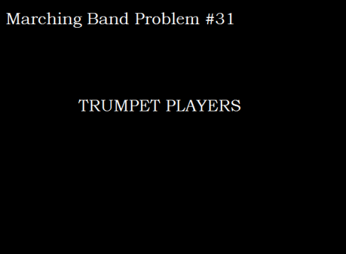 TRUMPET PLAYERS  It's funny 'cause I played trumpet last season but I just didn't have the stereotypical, arrogant personality like most. Now a happy mellophone player <3