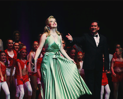 Lucy at Musicals in Concert (June 10, 2012)