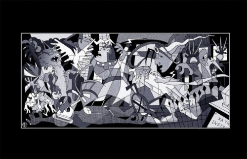 Cubist X-men…brilliant!