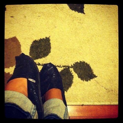 #shoegame #toms #billionairebabe (Taken with Instagram)