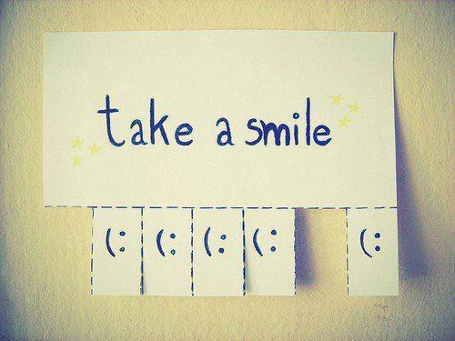 aquiseimagina:  take a smile =)  and…  Don't Stop =)