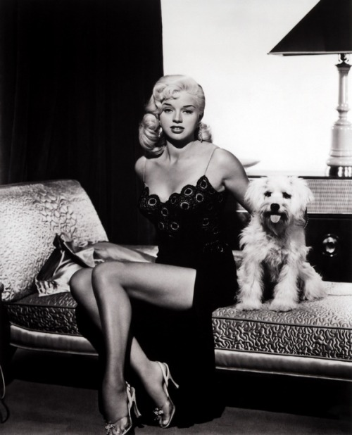theniftyfifties:  Diana Dors in 'I Married a Woman', 1958.