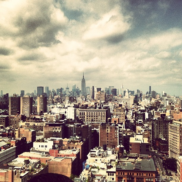 View north in Manhattan today  (Taken with Instagram)