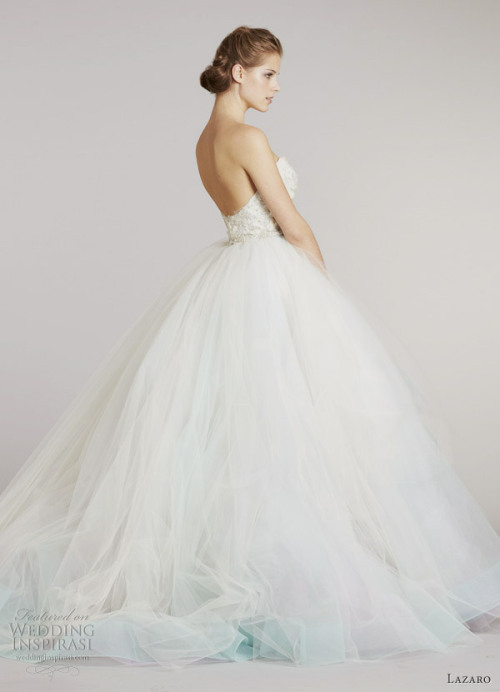 helloweddingdiary:  Lazaro Fall 2012 bridal collection