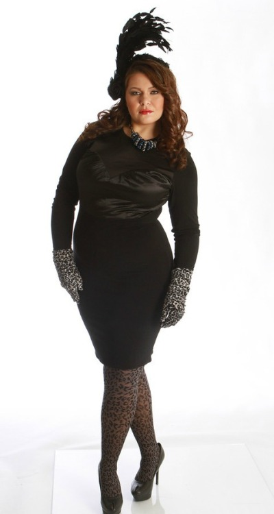 From my shoot for Skorch Magazine. Plus Size high fashion, say what? :)