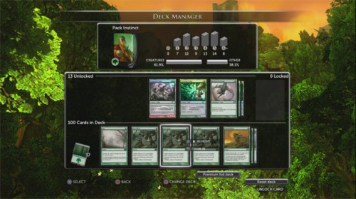 Screenshots of Duels of the Planeswalkers 2013