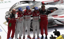 Historic triumph: Audi achieves first victory of a hybrid vehicle at Le Mans [VIDEO]