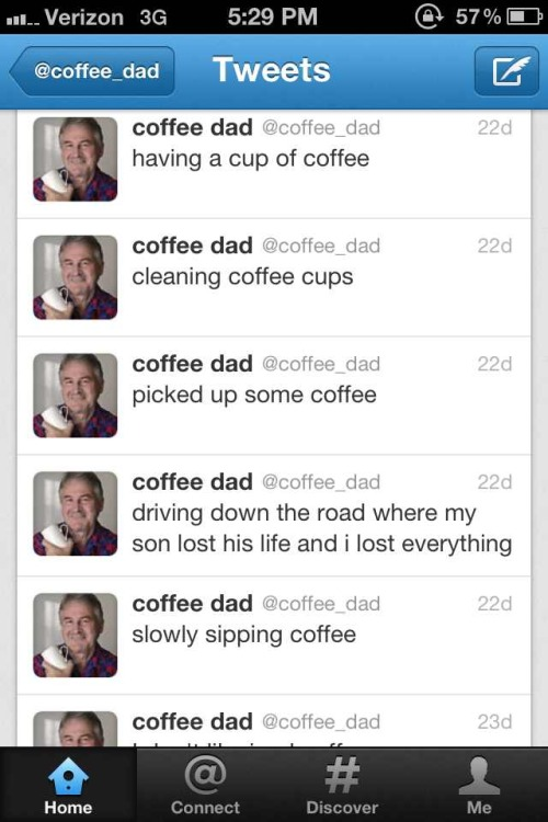 What the fuck, Coffee Dad?