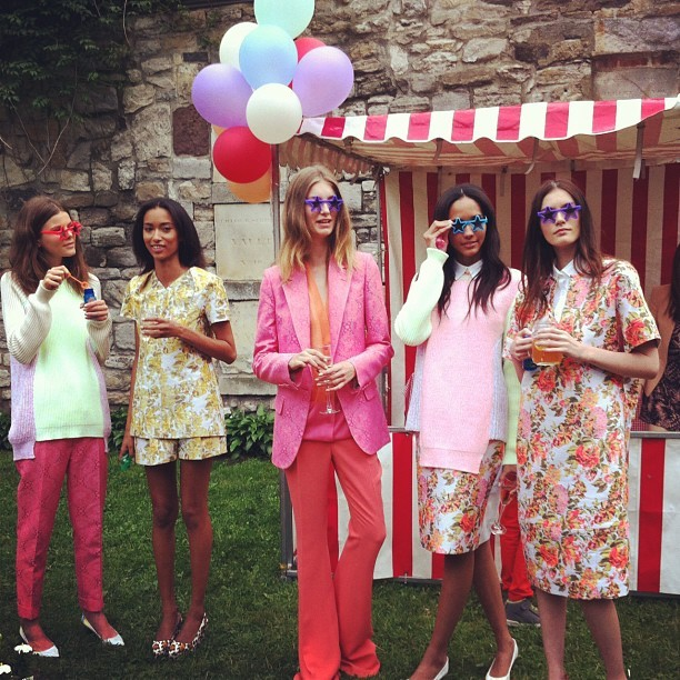 "Stella McCartney Resort 2013 ""Garden Party"""