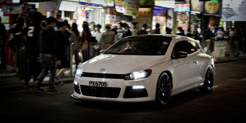 Volkswagen Scirocco somewhere in Mong Kok, Hong Kong (photo credit: R-W-P / Rupert in HK)