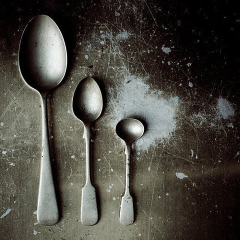 """I have measured out my life with coffee spoons."" ~ T. S. Eliot"