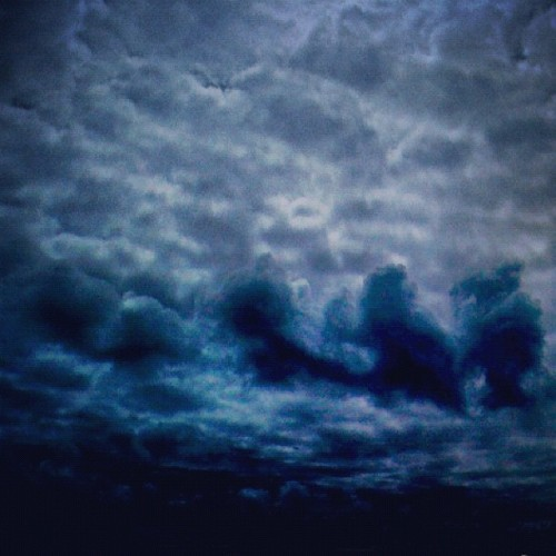#clouds (Taken with Instagram)